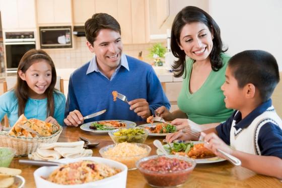 refeição-em-família
